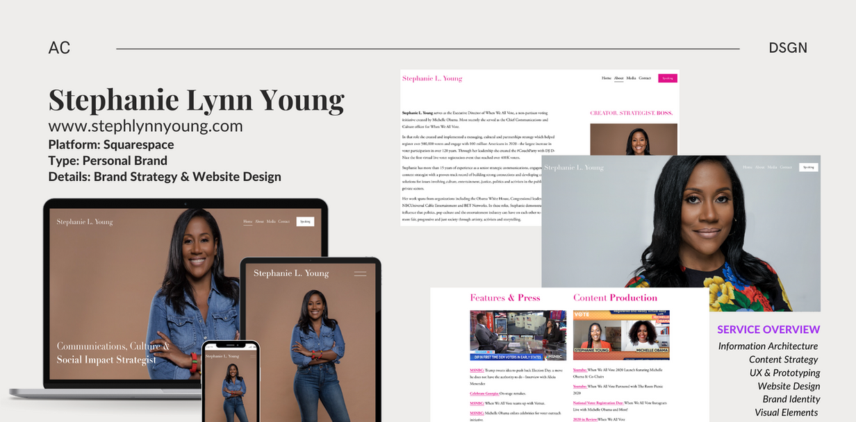 SLY - Web/Brand Design