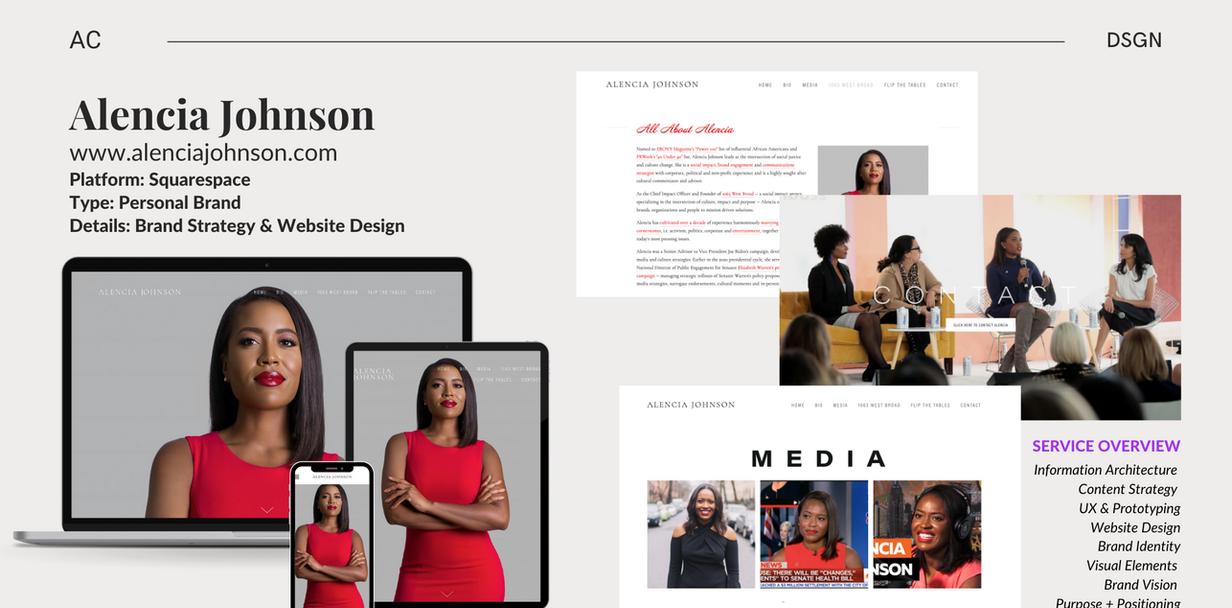 AJ - Web/Brand Design