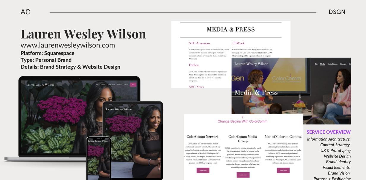 LWW - Web/Brand Design