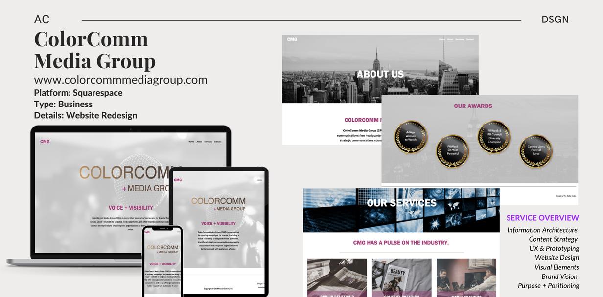 CMG - Web Redesign