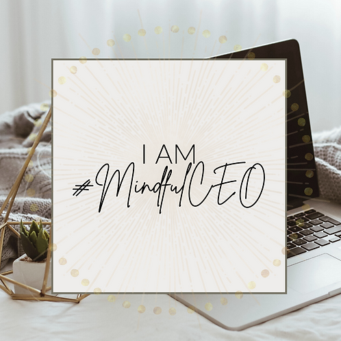 I AM x #MindfulCEO Affirmation Cards