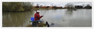 log cabin fishing