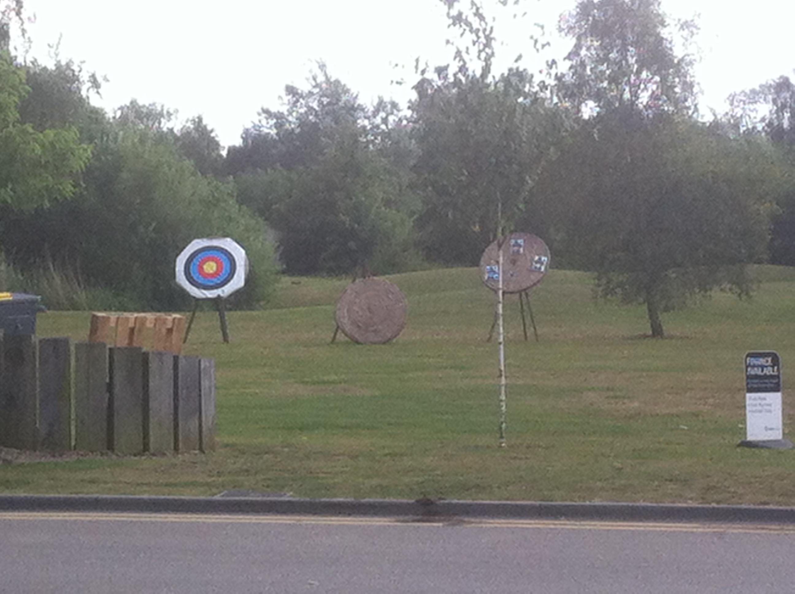 logcabinwithhottub archery.JPG