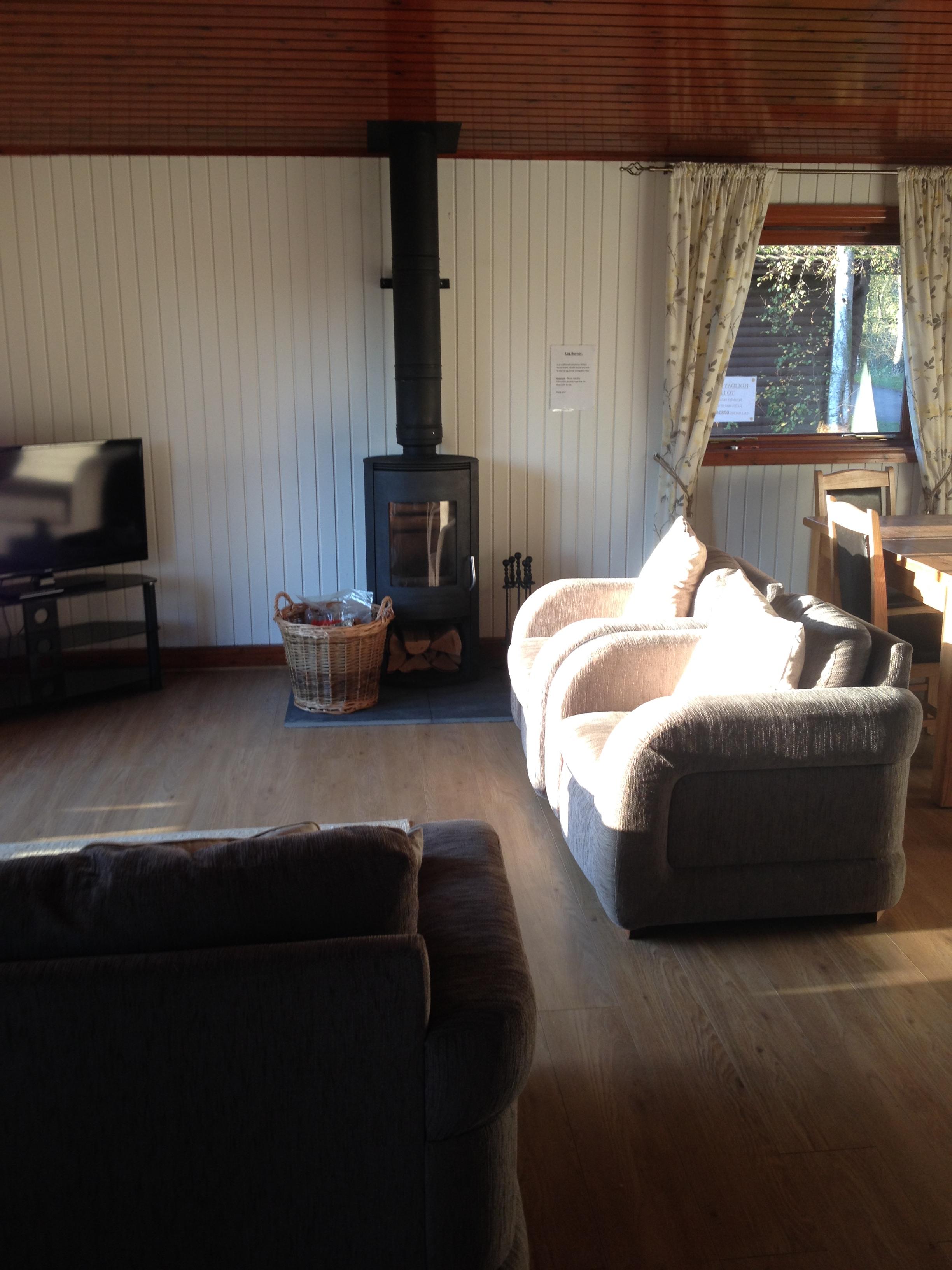 Lincolnshire Log Cabin