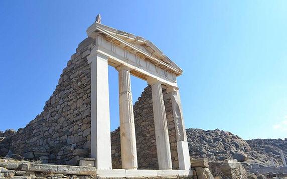Ο ναός της Ίσιδας στη Δήλο Isis temple