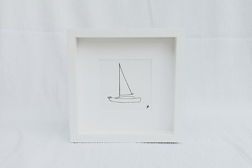 sailboat 1 - illustration