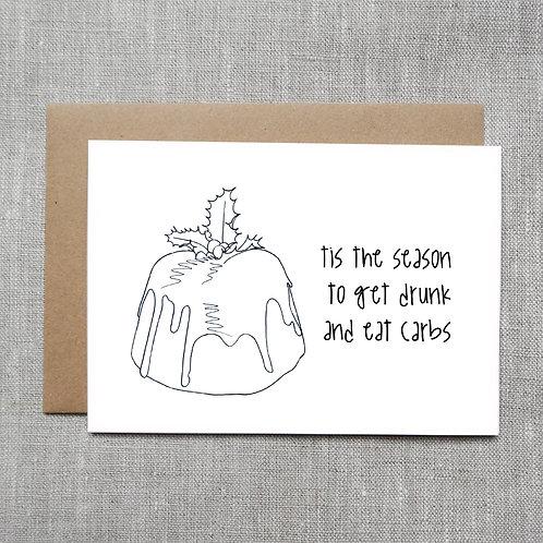 tis the season - Holiday / Christmas Card