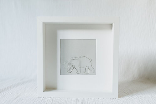 polar bear- wire art