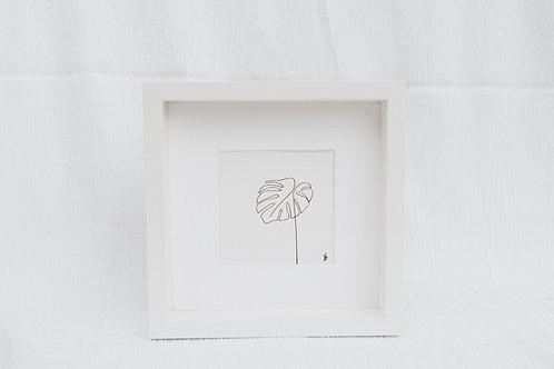 monstera leaf 1 - illustration