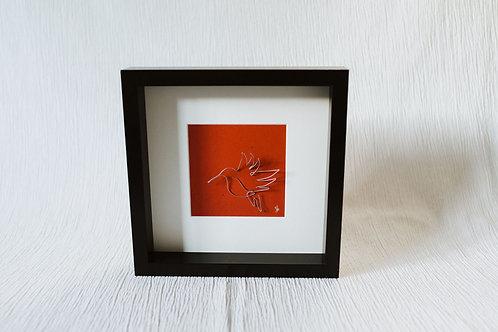 hummingbird - wire art