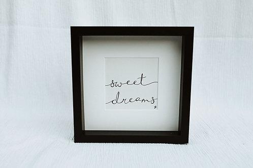 """sweet dreams"" - illustration"
