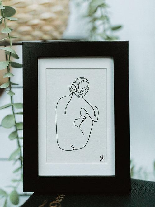 nude 1 - illustration 4x6