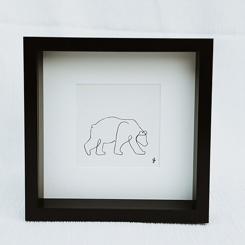 polar bear - illustration