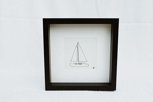 sailboat 2 - illustration
