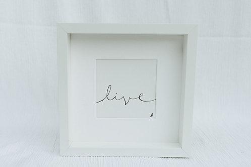 """""""live"""" - illustration"""