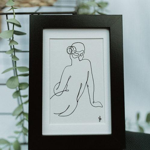 nude 3 - illustration 4x6