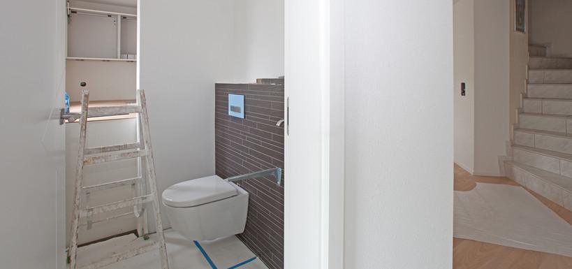 Einbau neues Gäste WC
