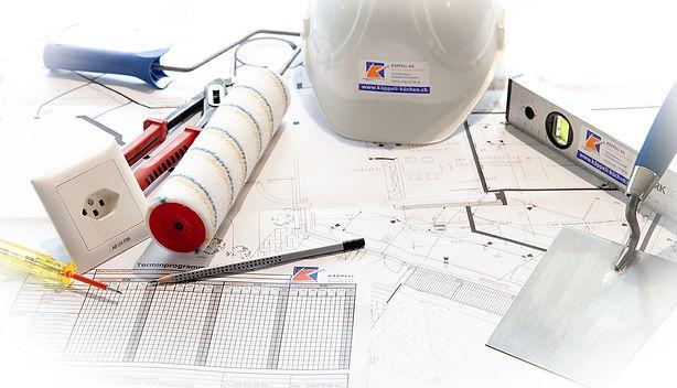 Umbau Koordination Planung Handwerker Bauprogramm || KÄPPELI AG Küchen- und Raumdesign