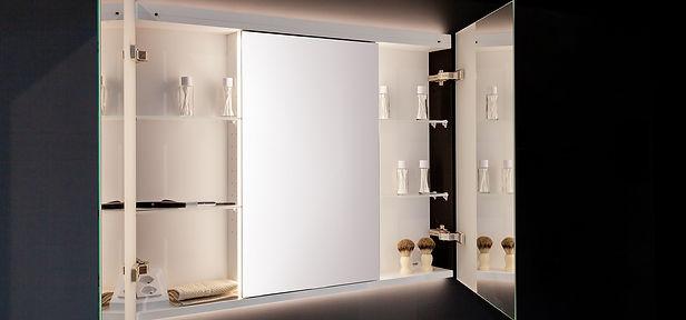Badplanung Spiegelschrank Badaccessoires Badbeleuchtung| KÄPPELI AG Küchen- und Raumdesign