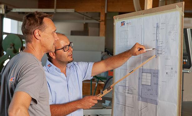 Produktion Produktionsbetrieb Projektleitung Planung Werkstatt| KÄPPELI AG Küchen- und Raumdesign