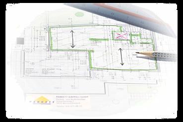 Bauplan Verlegerichtung, Parkett Käppeli GmbH