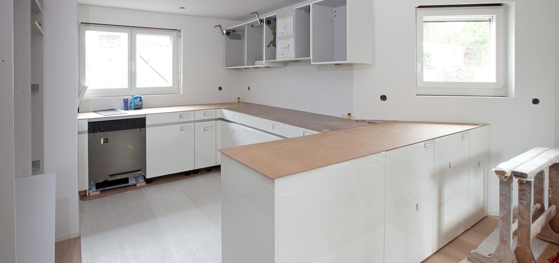 Einbau neue Küche