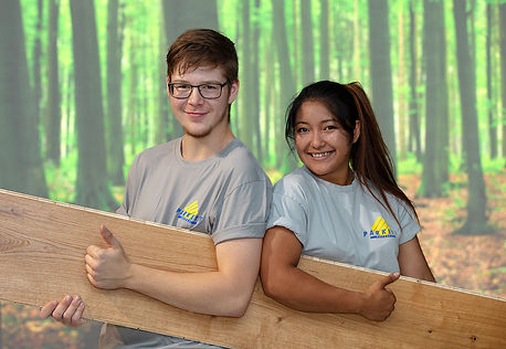 Erfolgreiche Lehrlinge Parkett Käppeli GmbH