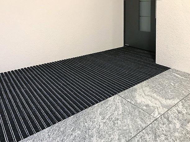 Schmutzschleusen Schmutzfangbeläge Eingangsbereich Eingangsmatten |PARKETT KÄPPELI GmbH
