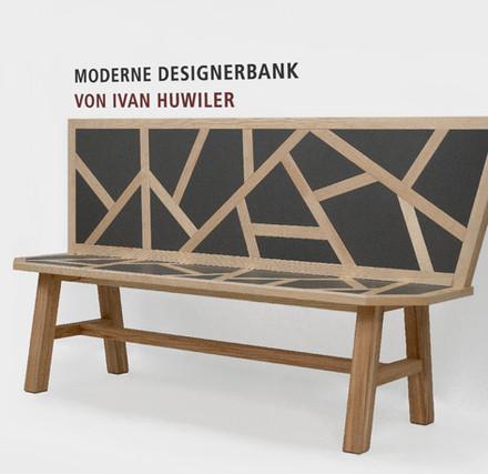Moderne Designerbank