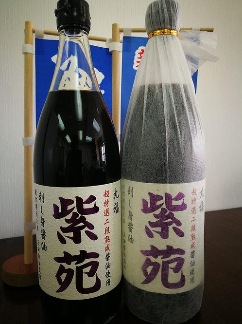 日本直送! 丸福紫苑刺身豉油1L