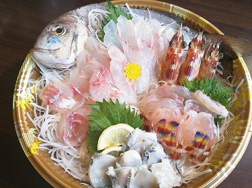 日本原條赤立魚刺身(小)