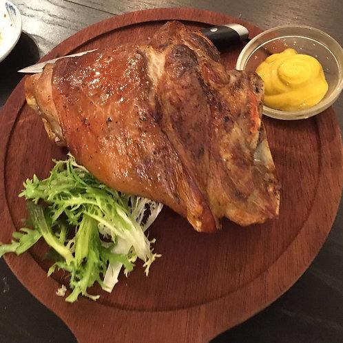 烤焗德國脆豬手伴薯角(大)