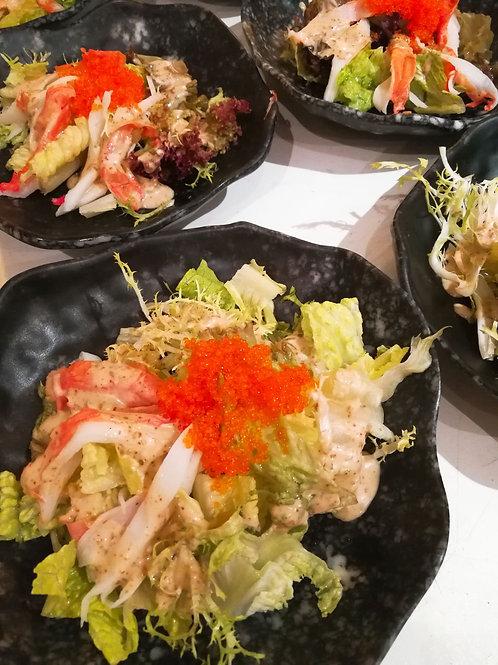 胡麻蟹籽豆腐沙律 1磅裝