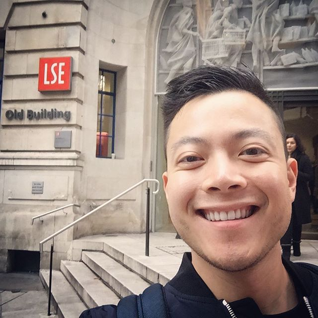 Good morning, London! And the adventure begins #firstday #postgrad #LSE #vancouverfoodie #yangonfood