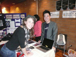 Signing up members during Clubs Days