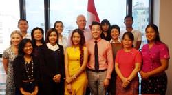 Embassy of Canada in Yangon, Burma