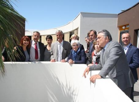 Inaugurations des résidences Sainte-Félicité et Michel Colucci