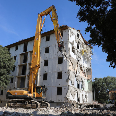 Coup d'envoi de l'ANRU 2 au Mas de Mingue à Nîmes