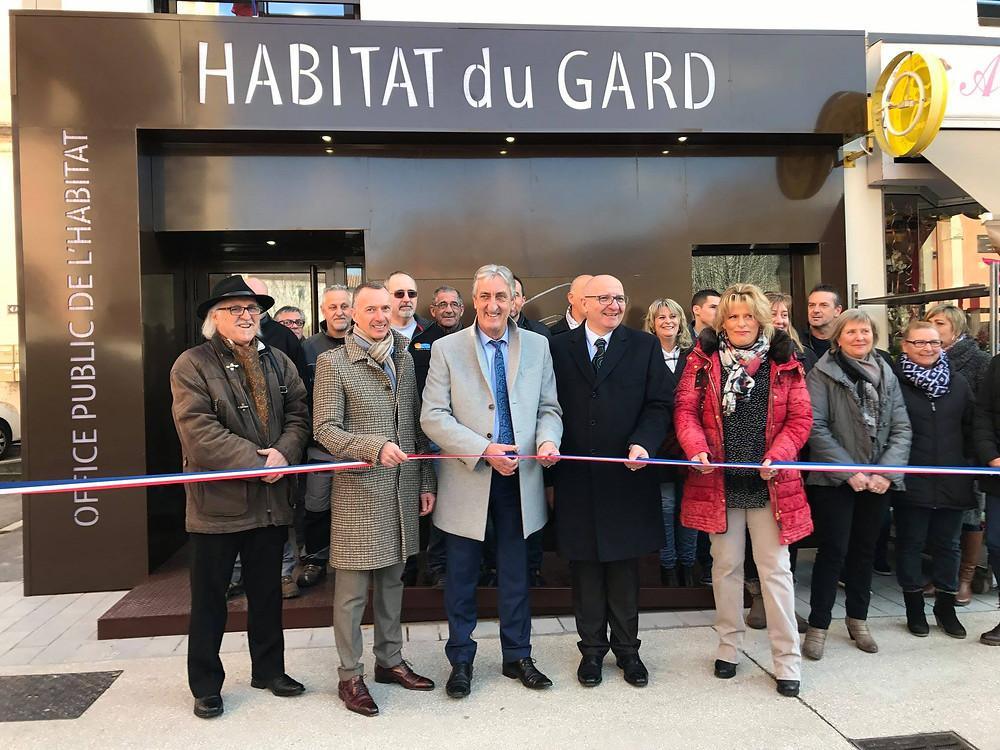Inauguration de l'Agence des Cévennes d'Habitat du Gard
