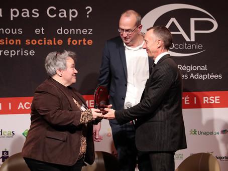 Personnes en situation de handicap : Habitat du Gard reçoit le « Prix de l'Implication »