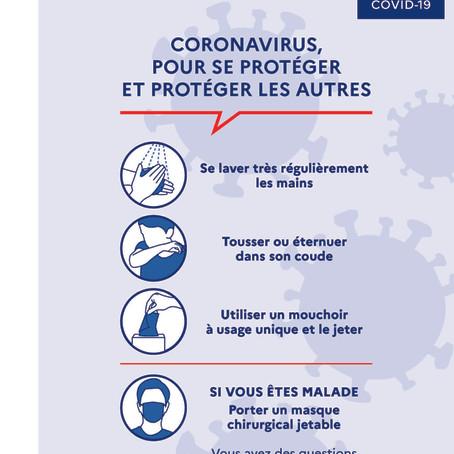 Coronavirus : bureaux d'Habitat du Gard fermés et toutes les activités non indispensables suspendues