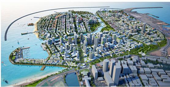 Colombo Port City Rendering