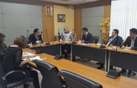 THE NATIONAL FOOD INSTITUTE (THAILAND) ESTABLISHED COLLABORATION WITH FHW.