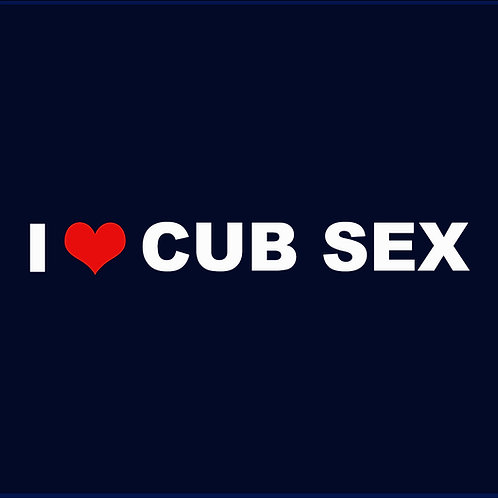 I LOVE CUB SEX / TV