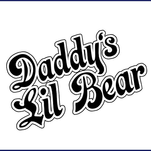 DADDY'S LIL BEAR / TS