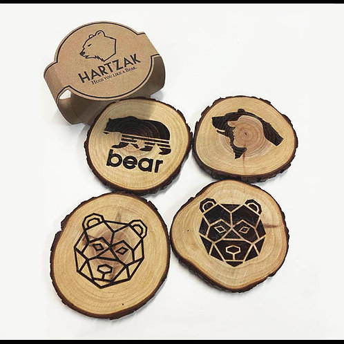 BEARS WOOD COASTERS / WD