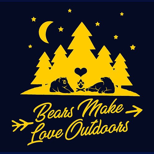 BEARS MAKE LOVE OUTDOORS / TV