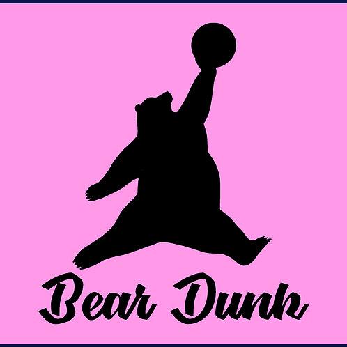 BEAR DUNK / TV
