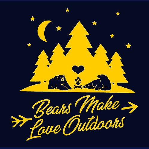 BEARS MAKE LOVE OUTDOORS / HTS