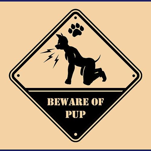 BEWARE OF PUP / BLS